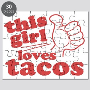 This Girl Loves Tacos Puzzle
