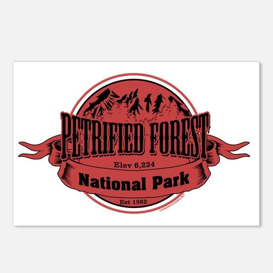 petrified forest 2 Postcards (Package of 8)