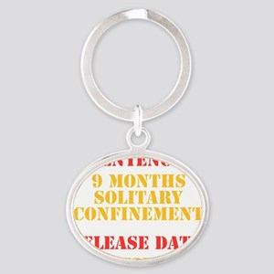 Release Date: October Oval Keychain