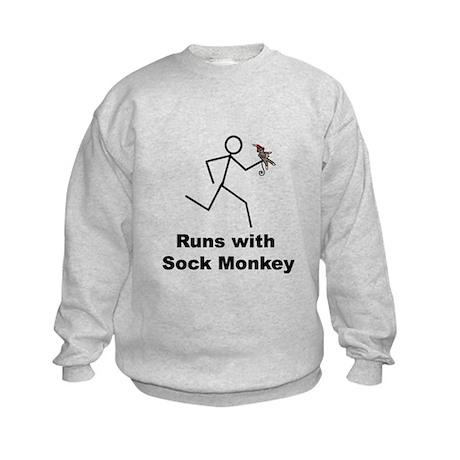 SOCKMONKEY Kids Sweatshirt