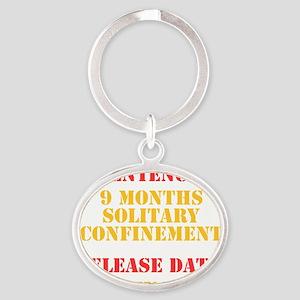 Release Date: January Oval Keychain
