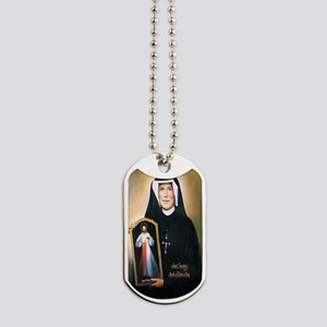 Saint Faustina Apostle of Divine Mercy Dog Tags