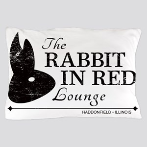 Rabbit in Red Lounge Pillow Case