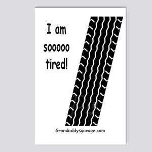 I am sooo tired! Postcards (Package of 8)