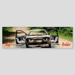 Burnt Car Sticker (Bumper)