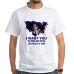 Gut Pile Sam White T-Shirt