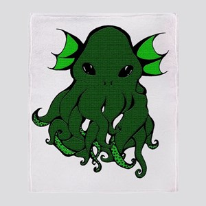 Cthulhu's Face Throw Blanket