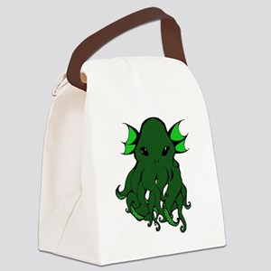 Cthulhu's Face Canvas Lunch Bag