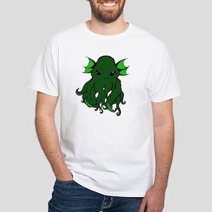 Cthulhu's Face White T-Shirt