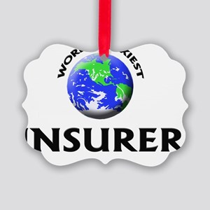 World's Sexiest Insurer Picture Ornament