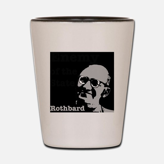 Enemy of the State - Rothbard Shot Glass
