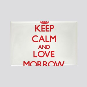 Keep calm and love Morrow Magnets