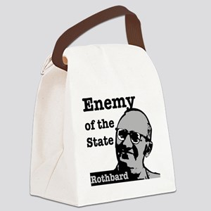 Enemy of the State - Rothbard Canvas Lunch Bag