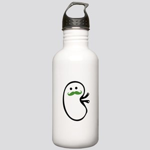 Kidney Mustache Water Bottle