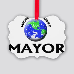 World's Sexiest Mayor Picture Ornament