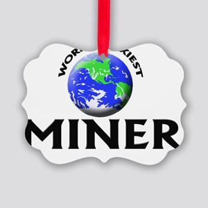World's Sexiest Miner Picture Ornament