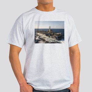 USS Harry S Truman Ship's Image Light T-Shirt