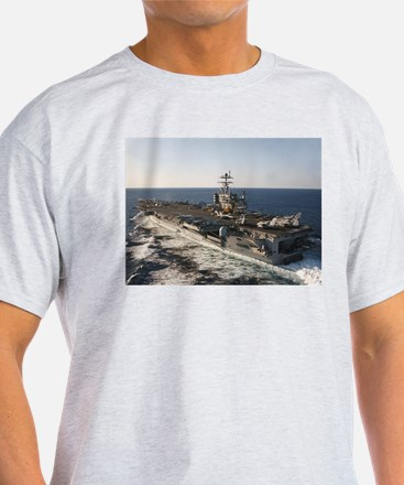 USS Harry S Truman Ship's Image T-Shirt