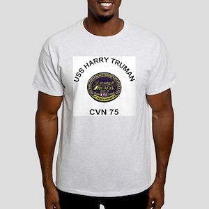 USS Harry S Truman CVN 75 Light T-Shirt