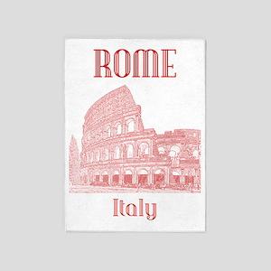 Rome_19x26_v2_Colosseum 5'x7'Area Rug
