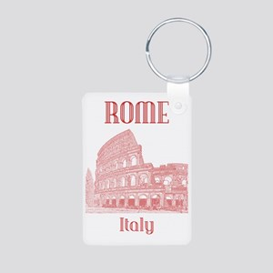 Rome_19x26_v2_Colosseum Aluminum Photo Keychain