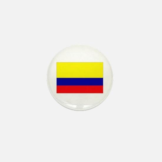 Cute Columbian Mini Button
