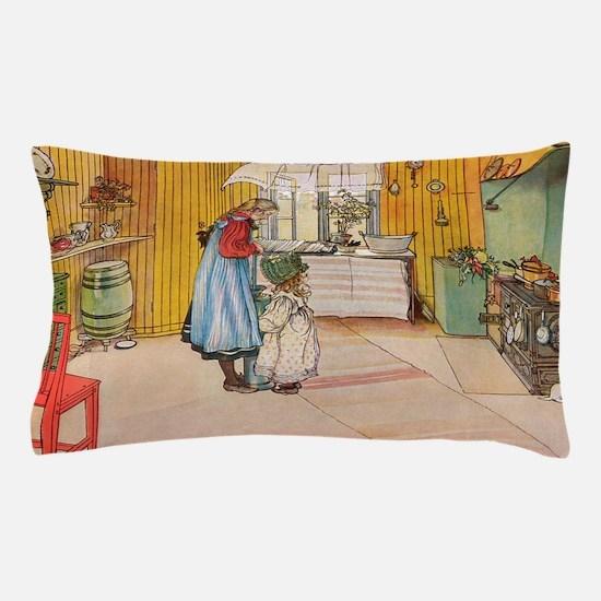Churning Butter Pillow Case