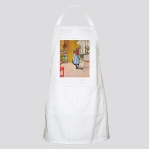 Churning Butter (square) Apron
