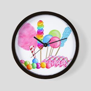 Candy Circus Wall Clock