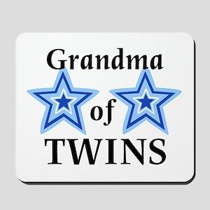 Grandma of Twins (Boys) Mousepad
