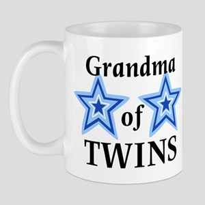 Grandma of Twins (Boys) Mug