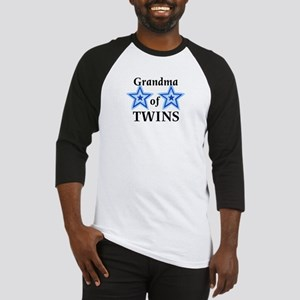Grandma of Twins (Boys) Baseball Jersey