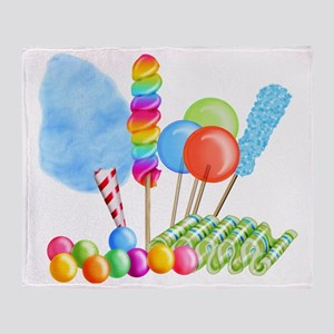 candy circus boy-  Throw Blanket