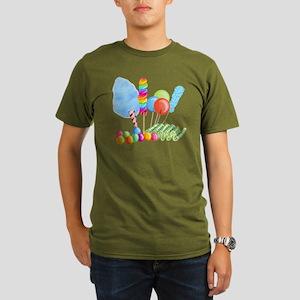 Candy Circus Boy Organic Mens T Shirt Dark