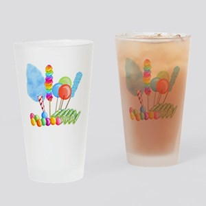 candy circus boy-  Drinking Glass