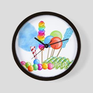 candy circus boy-  Wall Clock