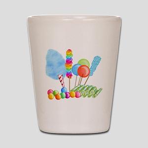 candy circus boy-  Shot Glass