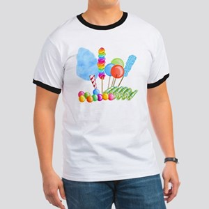 candy circus boy-  Ringer T