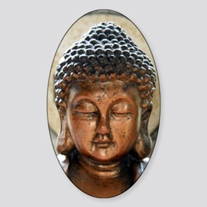 Buddha Blessing Sticker (Oval)