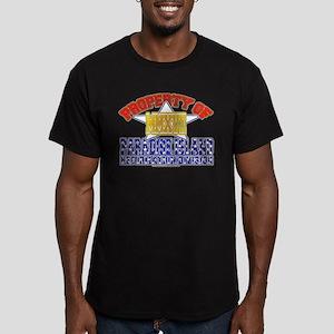 Prop of PI Reform Div Men's Fitted T-Shirt (dark)