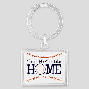 No Place Like Home Landscape Keychain