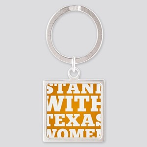 Stand With Texas Women Square Keychain