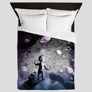 Starseed Galaxy Traveler | Queen Duvet