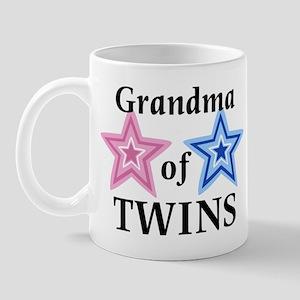 Grandma of Twins (Girl, Boy) Mug