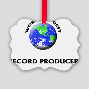 World's Sexiest Record Producer Picture Ornament