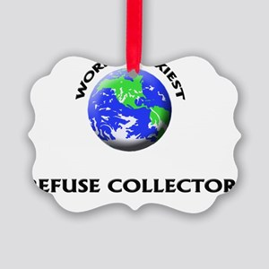 World's Sexiest Refuse Collector Picture Ornament