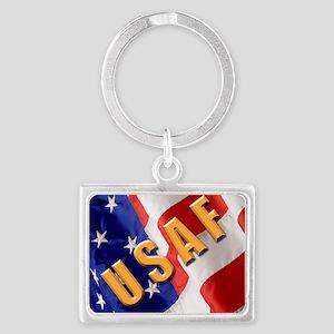 USAF Landscape Keychain