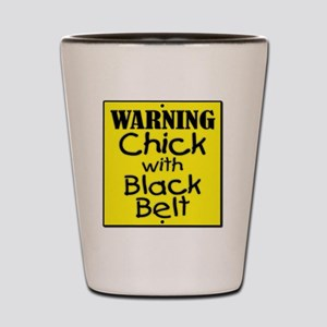 Warning CwBB DG Shot Glass