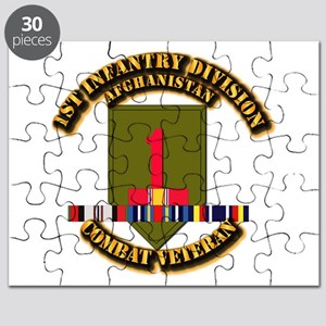 Army - 1st ID w Afghan Svc Puzzle