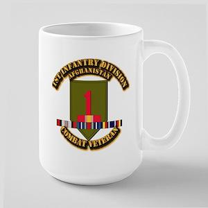 Army - 2nd ID w Afghan Svc Large Mug